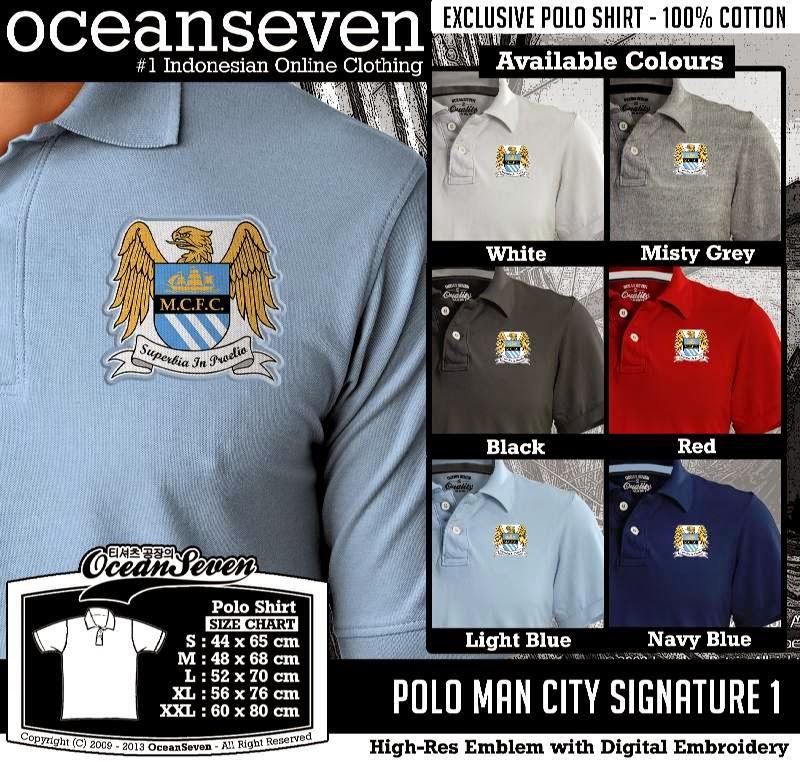 Kaos Polo Man City Signature 1