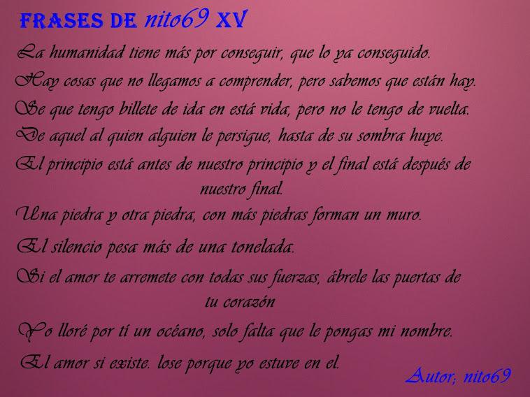 FRASES DE nito69 XV