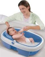 Cara Tips memandikan Bayi