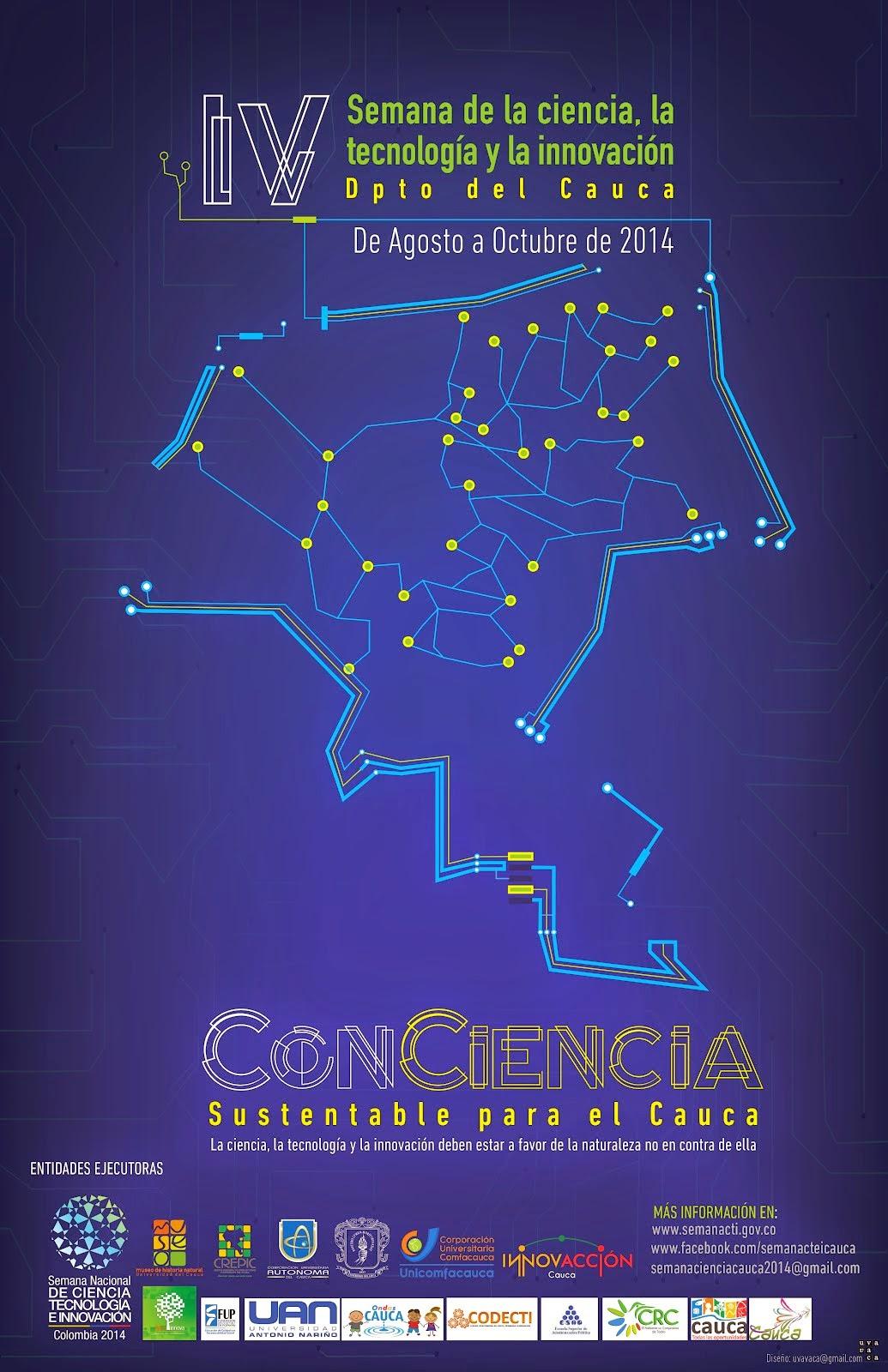 Semana Nacional de CTeI - Cauca