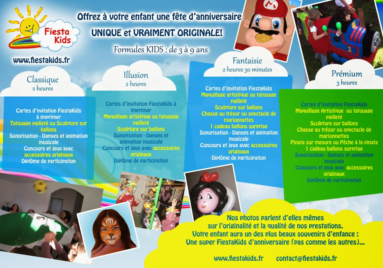 fiestakids animations et spectacles pour enfants toulouse ari ge carcassonne animation. Black Bedroom Furniture Sets. Home Design Ideas