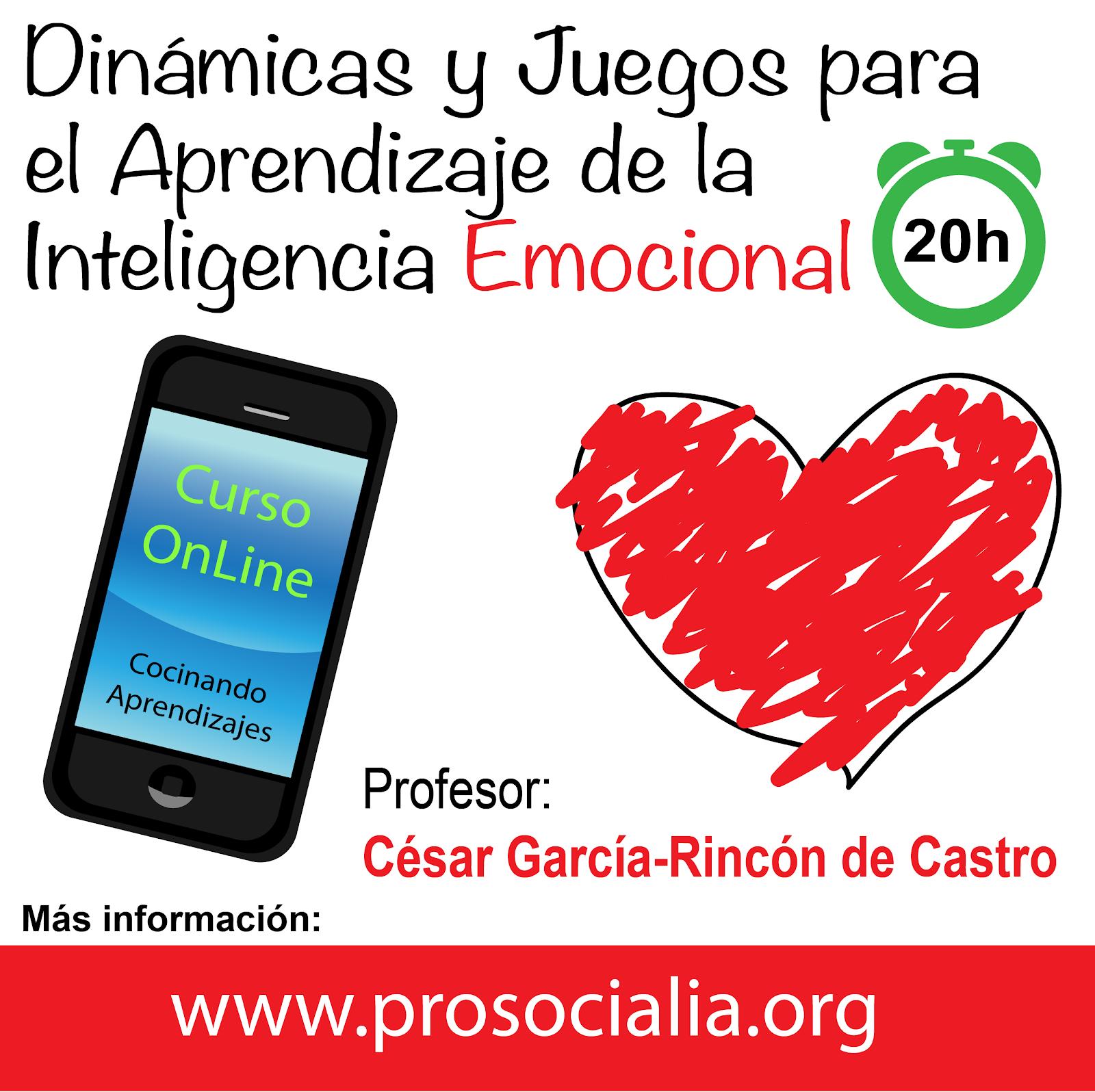 """NOVEDAD: Curso online """"Dinámicas y Juegos para el Aprendizaje de la Inteligencia Emocional"""""""
