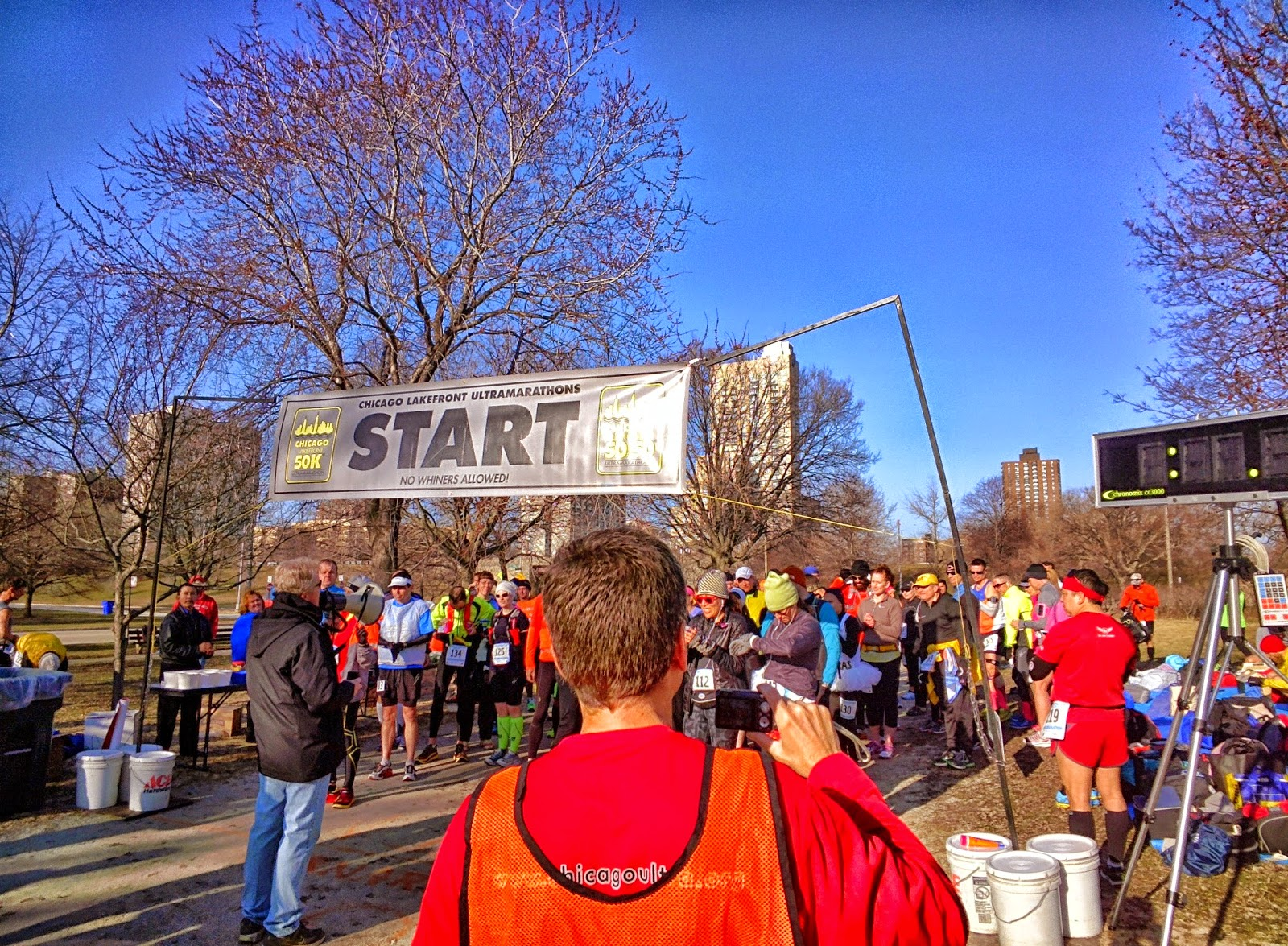 Chicago Lakefront 50K race