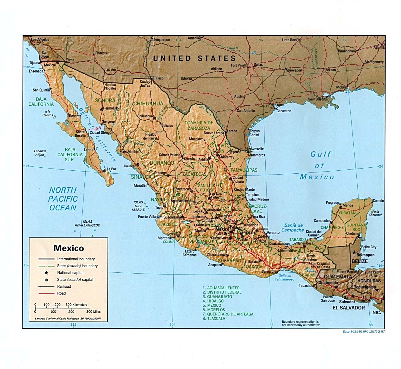 Los Cabos Mexico Map