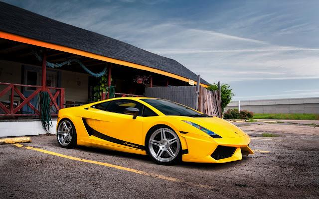 Lamborghini Gallardo Superleggera Amarillo Fotos de Carros Deportivos