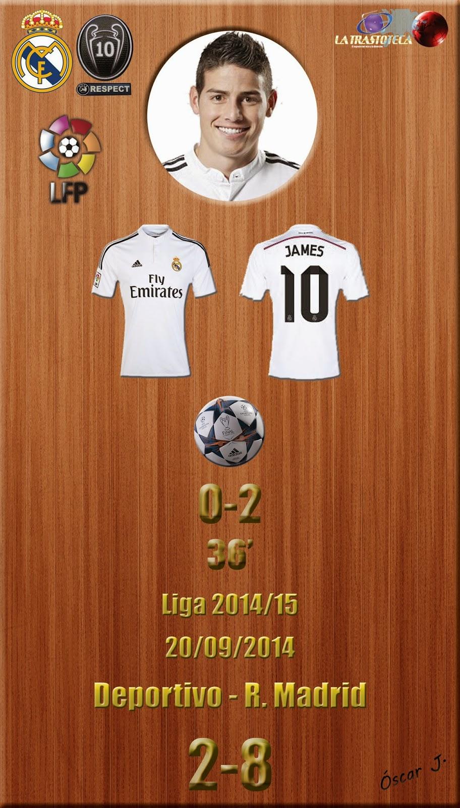 James Rodríguez (0-2. Un Golazo en toda regla) - Liga 2014/15. Jornada 4 (20/09/2014)