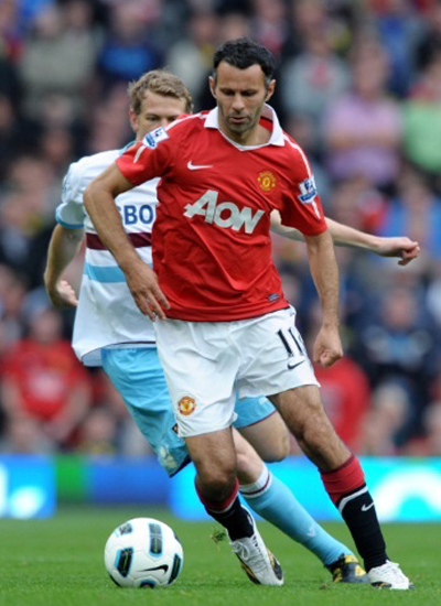 Ryan Giggs Manchester United Pictures 2011, Ryan Giggs 2011