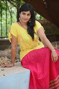 Aparna Glam pics in yellow top-thumbnail-5
