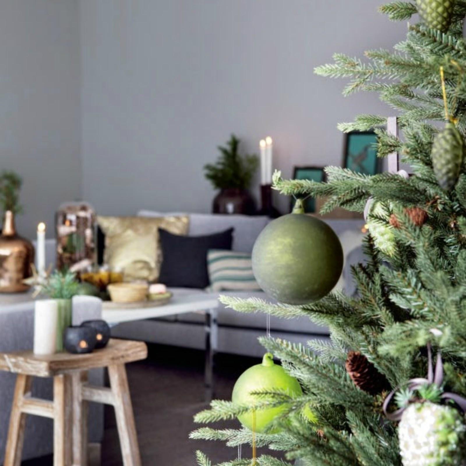 Decoraci n f cil decoraci n n rdica de navidad en verde for Decoracion 31 de diciembre
