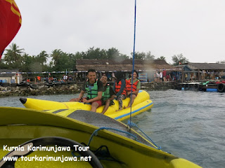 banana boat di karimun jawa