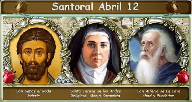 Santoral de Abril