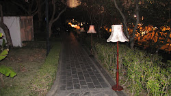 Lamp stand way