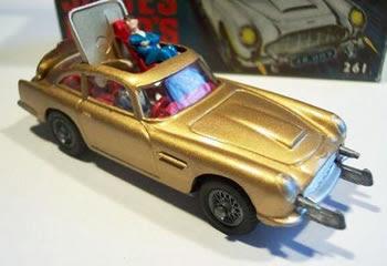 How Retro.com: Corgi James Bond Aston Martin DB5
