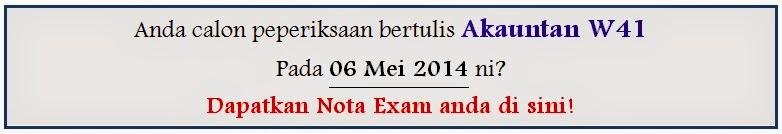 rujukan lengkap peperiksaan akauntan w41