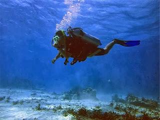 Underwater Walk seawalker bali