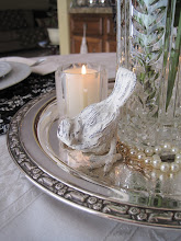 Streamlined Vintage Tablescape. . .