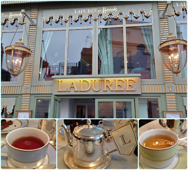 Ladurée in Harrods, London