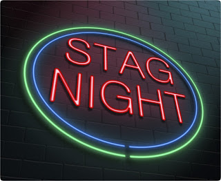 Stag Night Sign Neon Lights