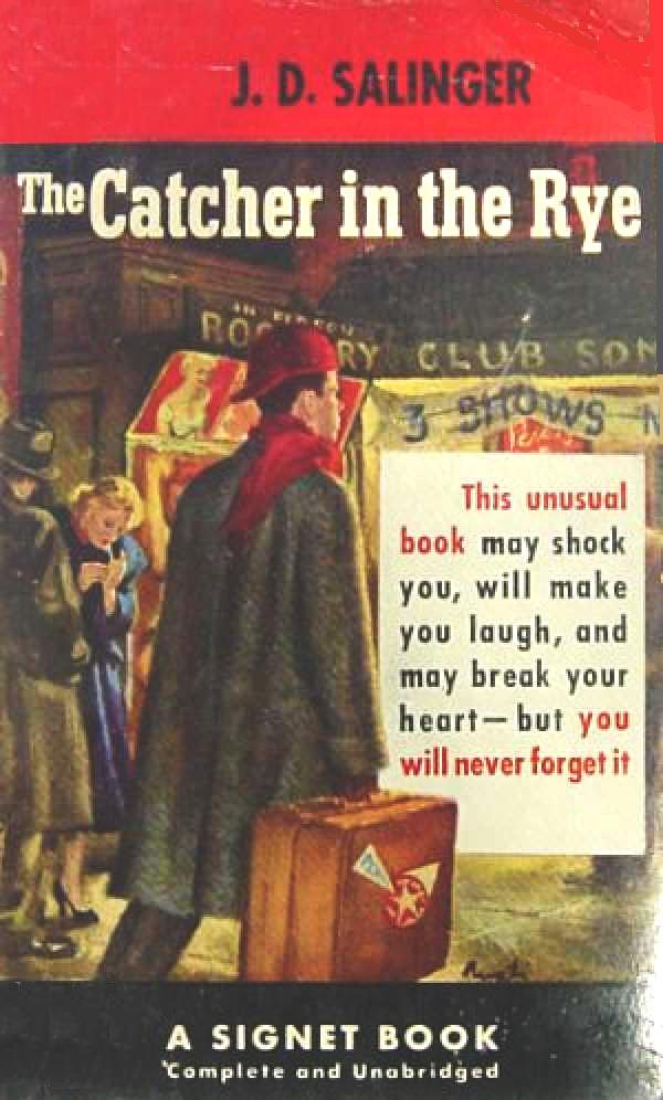understanding holden caulfields character in the catcher in the rye a novel by jd salinger J d salinger's the catcher in the rye: connections to of holden caulfield, the catcher in the rye artfully in the novel mirrors salinger's.