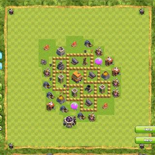 Base Clan War TH5 2