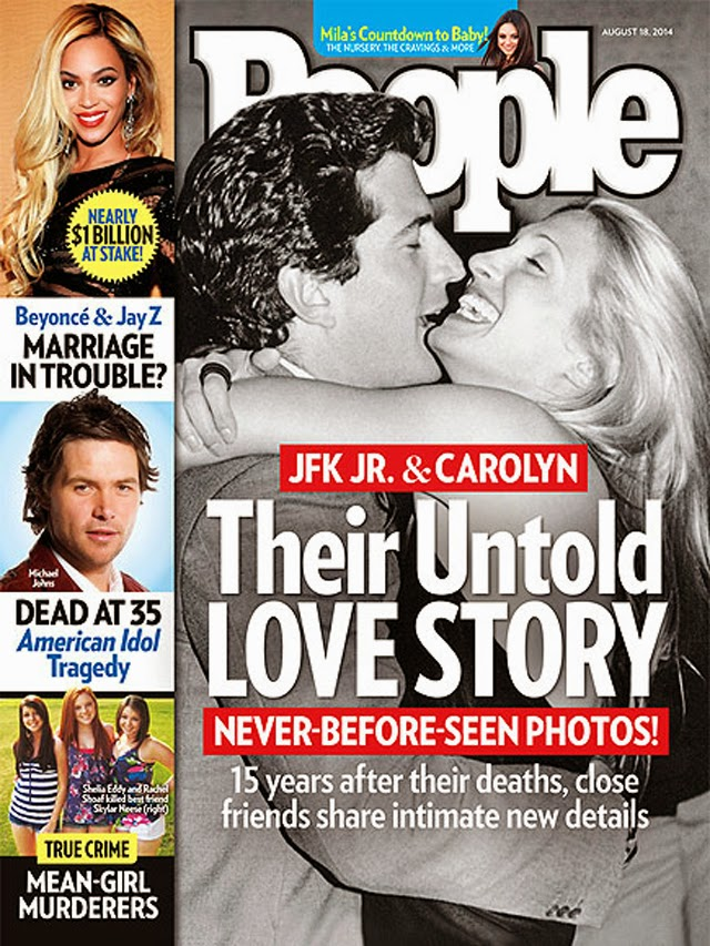 JFK Jr. & Carolyn Bessette Kennedy