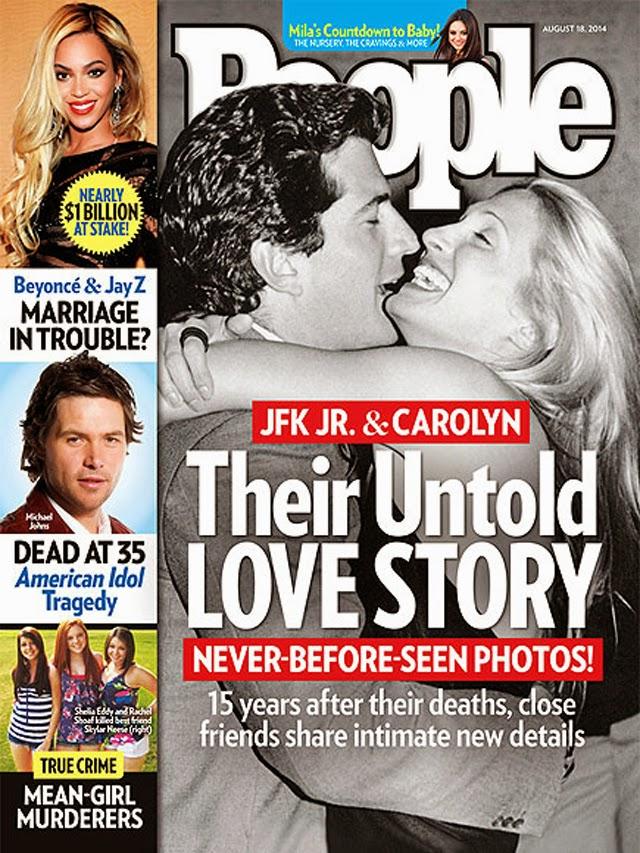 JFK Jr. & Carolyn Bessette Kennedy