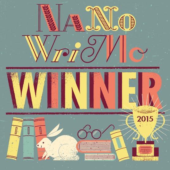 NaNo Winner 2015