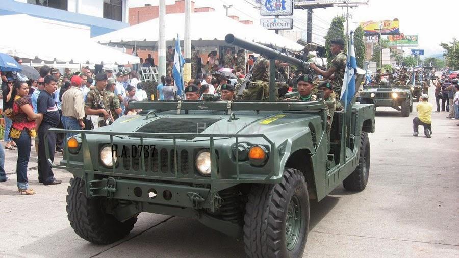 Fuerzas Armadas de Honduras Desfile198an3