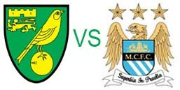 Prediksi Skor Norwich City VS Manchester City 29 Desember 2012