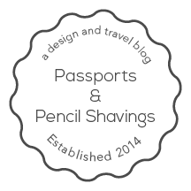 Passports + Pencil Shavings