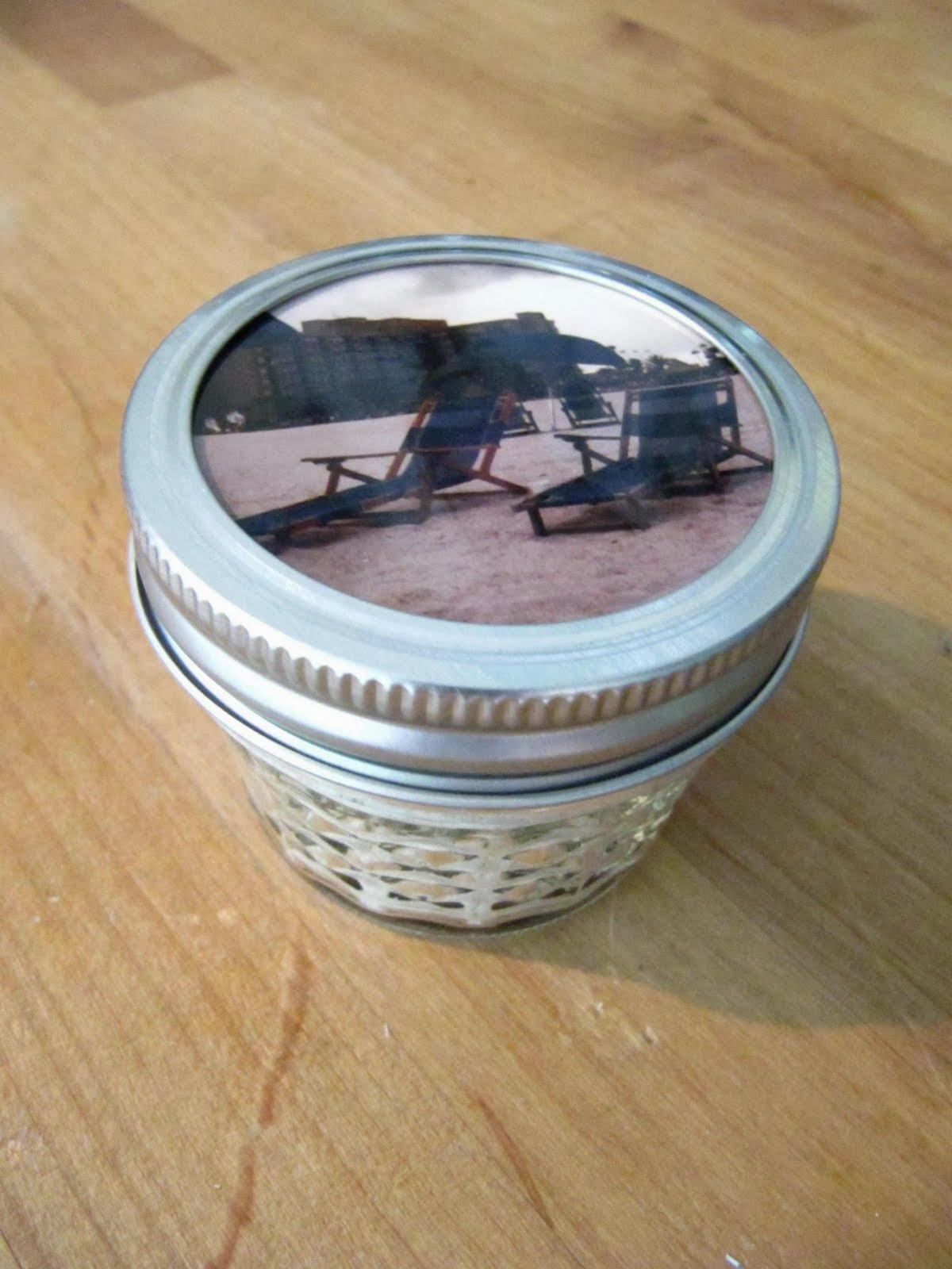 memory box canning jar