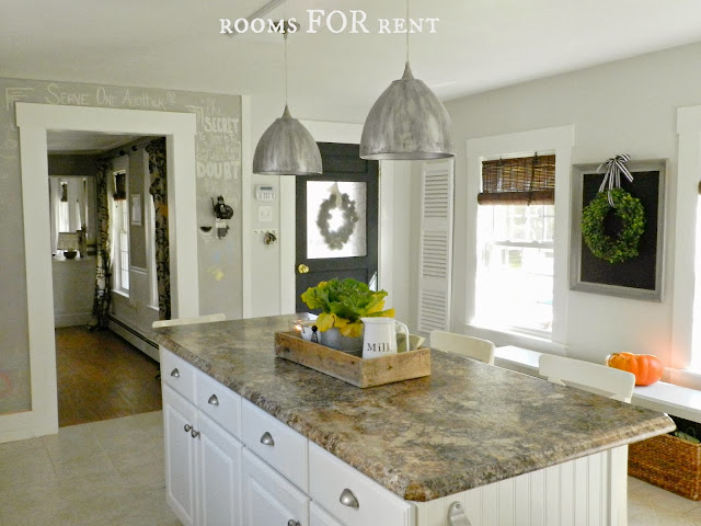 Kitchen paint color horizon by benjamin moore for Horizon benjamin moore grey