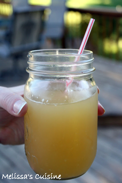 Melissa's Cuisine: Peach Lemonade (just 2 ingredients!)