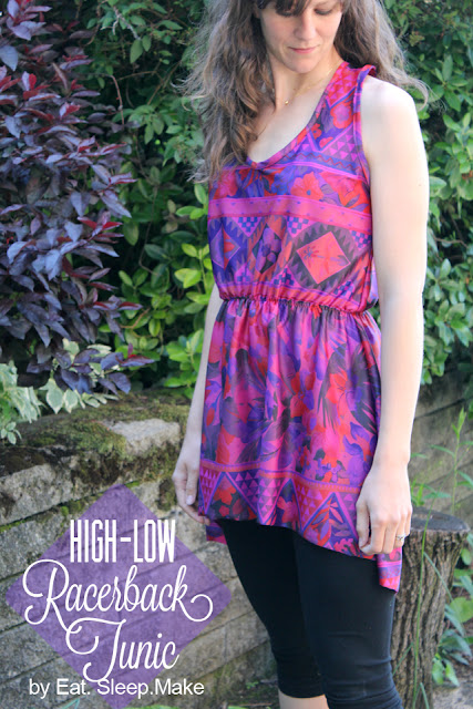 High Low Racerback Tunic DIY