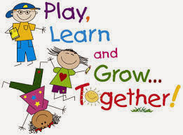 Image that says Play Learn and grow together