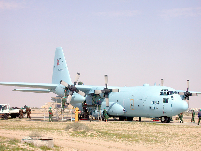 MC-130P Combat Shadow Tanker Aircraft