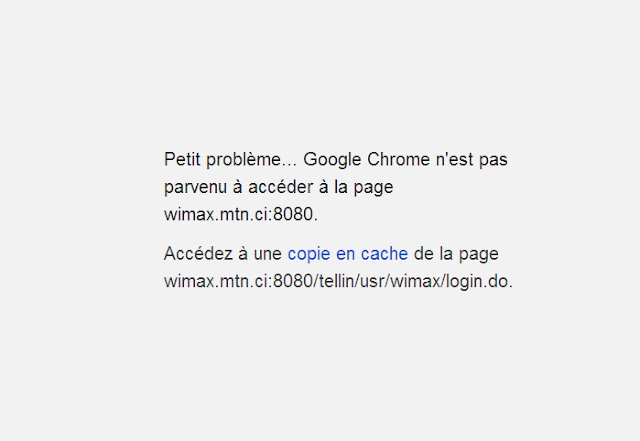 MTN WiMAx Down (jour 3), A Unix Mind In A Windows World
