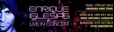 Enrique Iglesias Live Concert in Bangalore