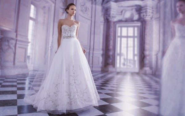 Romantic Wedding Dresses by Demetrios Couture 10
