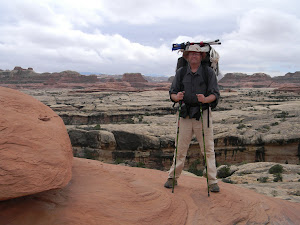 Backpacking in Canyonlands Nat'l Park