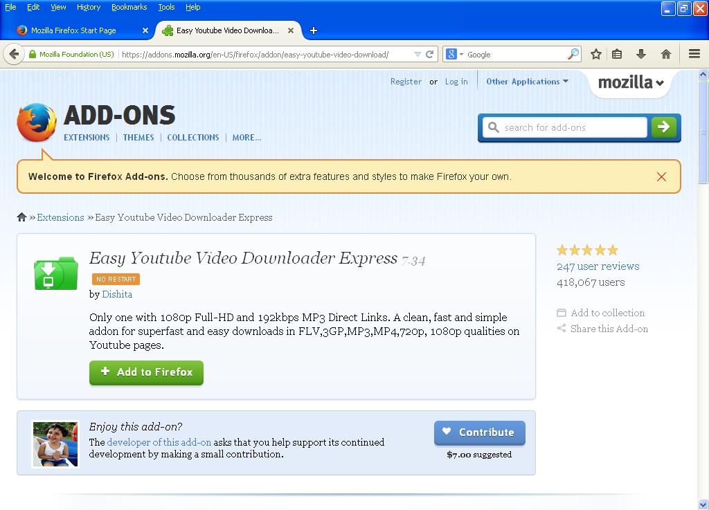RapidShare DownloadHelper :: Add-ons for Firefox