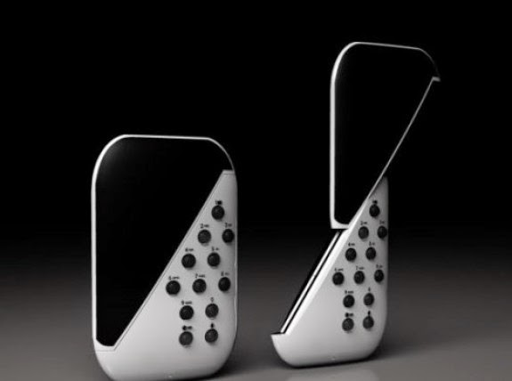 DYA Phone Concept Desain Handphone Terunik Di Dunia