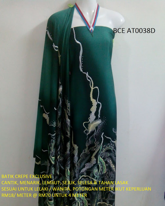 BCE AT0038D: BATIK CREPE EXCLUSIVE