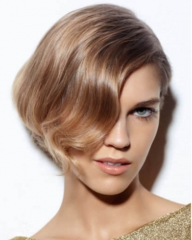 Lovely Short Bob Haircut 2013