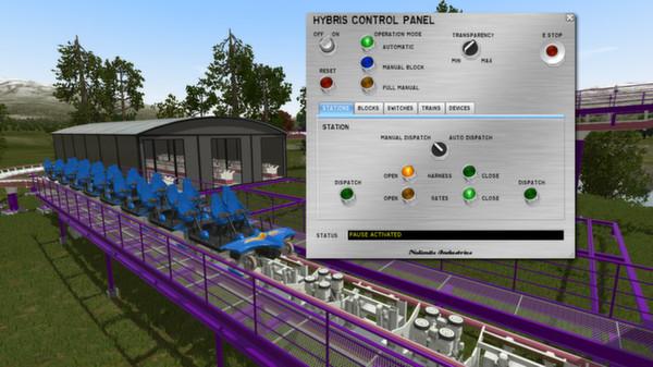 تحميل لعبة محاكات الدوارة السككية Nolimits Roller Coaster Simulation بوابة 2016 ss_abceddd71d88831e9