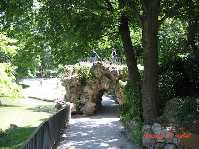 el paisaje de Madrid_el palacio de Cristal del parque del Retiro 3