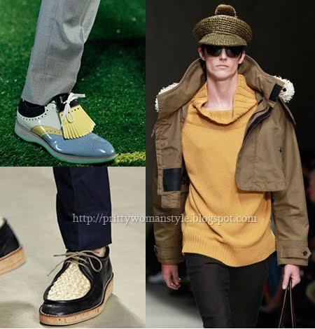 Мъжки Обувки Тенденции Пролет/Лято 2012