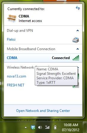 konek internet