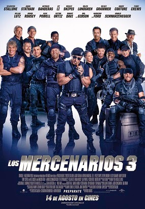 Los Mercenarios 3 The Expendables 3 Ver gratis online en vivo streaming sin descarga ni torrent