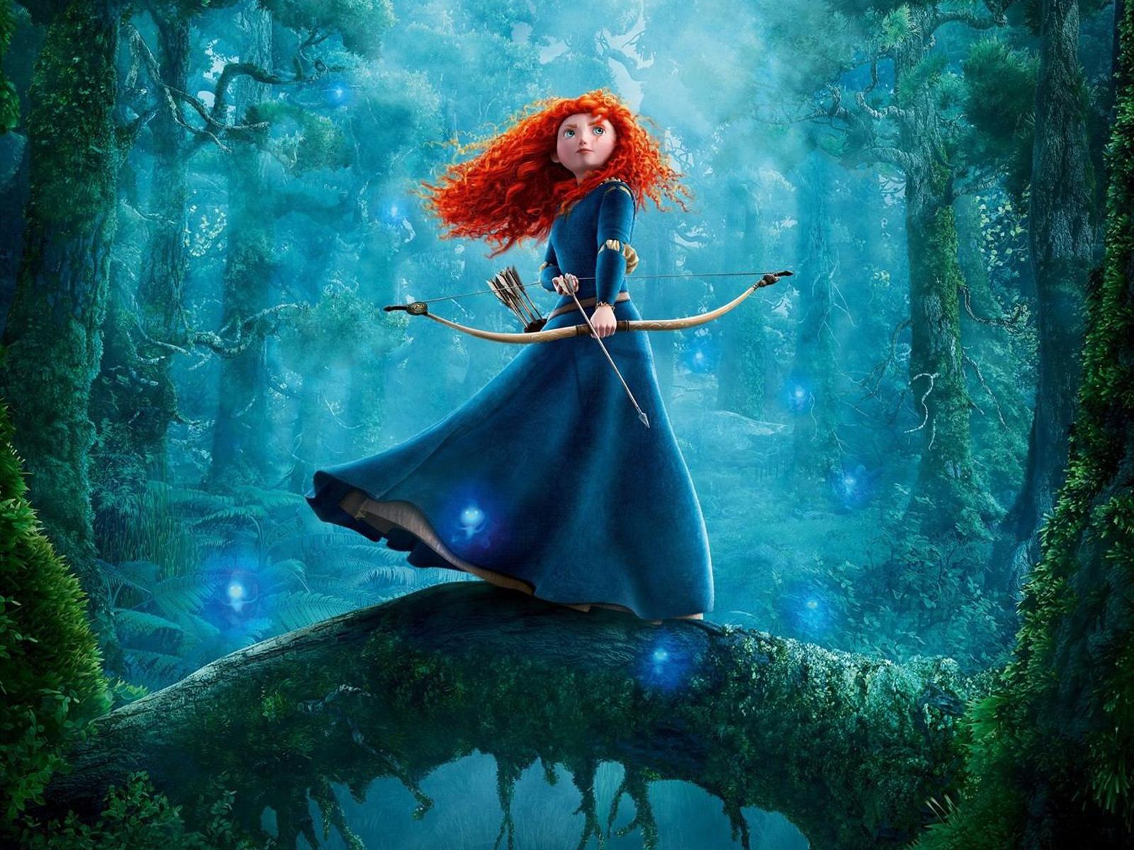 Merida Brave, Disney